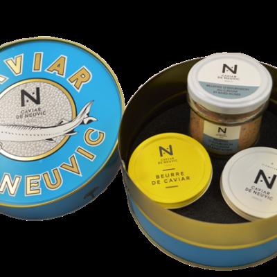 Assortiment de caviars