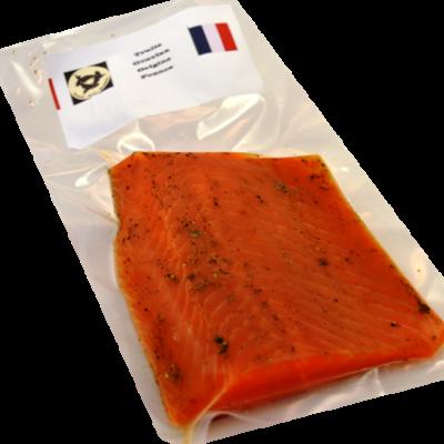 Truite gravlax origine France